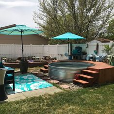 You may love to consider the affordable yet humble stock tank pool design idea for your backyard this season. Which design is your favorite? Stock Pools, Stock Tank Pool, Backyard Patio, Backyard Landscaping, Landscaping Ideas, Homemade Pools, Piscina Interior, Swimming Pools Backyard, Pool Designs
