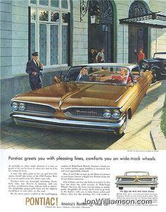 """A """"retro"""" Pontiac Ad highlighting a superbly built and powerful car!"""