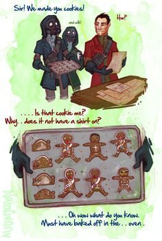 assassin cookies by oo0shed0oo on deviantART | These Daud and assassins comics are like the most adorable thing ok?