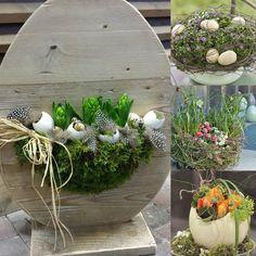 dream gardens: 12 miniatúrnych veľkonočných záhradiek