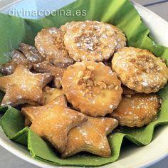 Galletas danesas de mantequilla - Divina Cocina                                                                                                                                                                                 Más