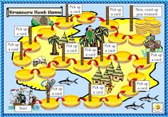 Treasure hunt board game - Use this unique, pirate themed game to develop…