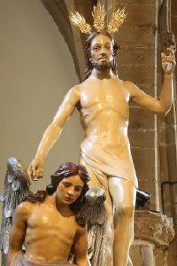 Jesús Resucitado de Úbeda, OBRA DE PALMA BURGOS