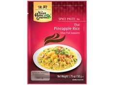 Thaise #ananas rijst