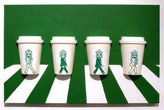 Artist Draws on Starbucks Cups, Making the Mermaid the Heroine of Countless Amazing Scenes | Adweek