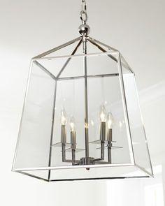 Regina-Andrew Design Square Glass Chandelier - for family room