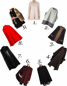 I really really want a winter cape! Winter Cape, Cape Coat, Plus Size Fashion, Capes, West Coast, Pretty, Blazers, Jackets, Clothes