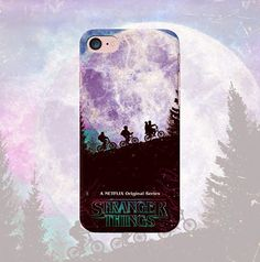 Stranger things phone case iPhone X 8 7 plus 6 6s 5 5s se 4 4s Samsung galaxy case s8 plus s6 edge s8 s7 s6 s5 s4 Note 4 5 tv series movie This case is made of hard plastic. Our designs are printed using 3-D print technology that allows to create high quality durable phone case. Image is