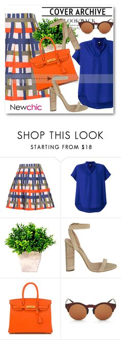 """NewChic !"" by dianagrigoryan ❤ liked on Polyvore featuring adidas Originals and Hermès"