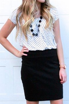 Our light weight, polka dot chiffon top will be a FALL fave! This top is perfect…