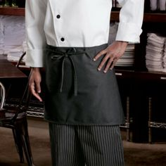 Worn folded in half, get 4 changes before washing! Unisex one size, available in white, red and black. Waist Apron, Chef Apron, Music Videos, Unisex, Aprons, Skirts, Black, Fashion, Kitchen