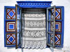 Mărţişor - of March / Romanian Traditions/ Village Museum Danube Delta, Bucharest, Decoration, Romania, Museum, Windows, Traditional, Architecture, Dutch