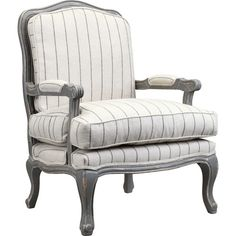 Found it at Wayfair - Spencer Arm Chair in Distressed Gray