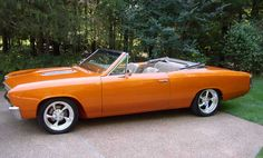 '67 Chevrolet Chevelle Convertible