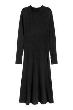 H&M+ Sukienka w prążki - Czarny - ONA | H&M PL