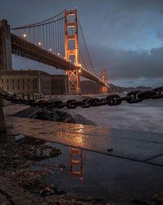 Golden Gate Bridge by @infamousdjrebel by San Francisco Feelings