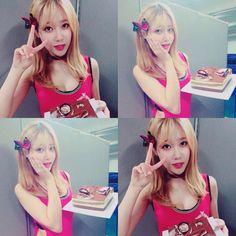 """""""[Yunastagram] Yuna - Instagram updates  #HappyYunaDay  #에에오에이 #유나 #서유나 #aoa #aceofangels #yuna #seoyuna #kpoppedits"""""""