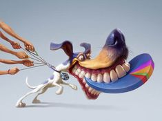 7.funny character illustrations