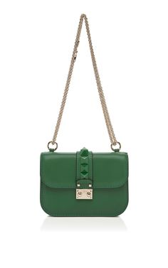 Valentino Mini Lock with Laquered Studs via @Moda Operandi