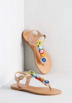 Hop on Pop Art Sandal. Stay one stylish movement ahead by sporting these  eye- b4f74fed1d