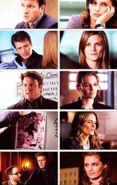 Beckett's reactions to #Castle's theories over the years...