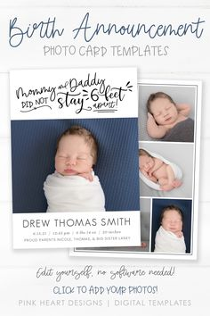 Announce the arrival of your new baby to family and friends with this cute baby birth announcement for these crazy coronavirus times. This funny newborn card is the perfect way to share your new baby's photos with your friends and family so they can delight in your precious new addition! #Corjl #BirthAnnouncement #BirthTemplate #BabyAnnouncement #NewbornCard #BabyCard #BirthCard #NewbornPhotoCard #QuarantineBaby #6FeetApart #FunnyBirthCard #CovidNewborn #SocialDistanceBaby Newborn Birth Announcements, Birth Announcement Template, Birth Announcement Photos, Announcement Cards, Heart Designs, Baby Birth, Baby Cards, Photo Cards, Mom And Dad
