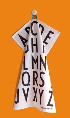 Design Letters Set 2 Theedoek | Klevering