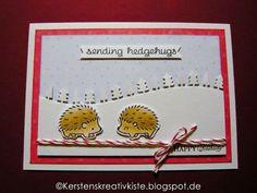 KERSTEN'S  KREATIVKISTE: Hedgehugs