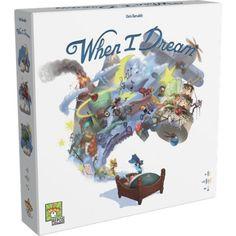 """When I Dream is een partyspel. Eén speler draagt een slaapmasker. De andere spelers krijgen in het geheim een rolkaart. Deze kaart geeft aan of ze een """"fee"""" zijn, een """"zandmannetje"""" of een """"kabouter"""".Eén ronde van het spel When I Dream duurt 120 seconden. De spelers tekenen elementen van de droomkaa Best Games, Fun Games, Games To Play, Best Gifts For Tweens, Tween Gifts, Cool Toys For Boys, Best Kids Toys, Puzzle Games For Kids, Puzzles For Kids"""