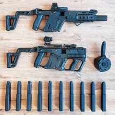 💁🏻♀️ Kriss Vector by with system. Military Weapons, Weapons Guns, Airsoft Guns, Guns And Ammo, Kriss Vector, Submachine Gun, Custom Guns, Weapon Concept Art, Assault Rifle