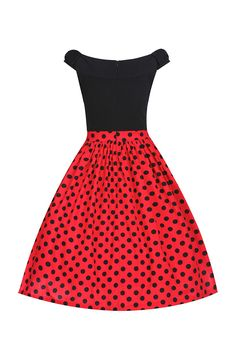 vintage allday φόρεμα bardot Carlisle Red