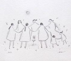 vicky alvarez (@vicky.alvarez.illustration) #womenscircle #circulodemujeres