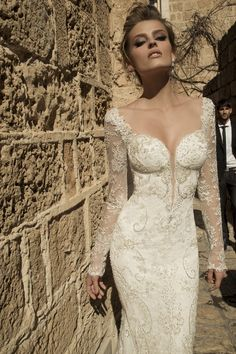 It's more than a gown when your embodied in lavish lace and silk- Galia Lahav