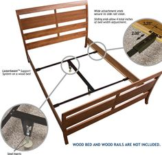 NEED THIS FOR KIDOS Wooden Bed