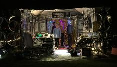 Star Trek Halloween transporter room.  #parkforesthalloween Halloween Themes, Star Trek, Times Square, Stars, Room, Bedroom, Sterne, Star, Rum