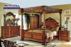 Manon King Bed Set