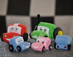 Baby washcloth cars tutorial!