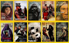 40 National Geographic cover
