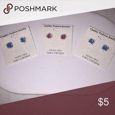 Fashion Earrings Mini Enamel Post Studs Jewelry Earrings