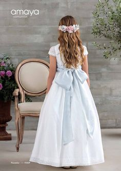 Little Girl Dresses, Girls Dresses, Flower Girl Dresses, Summer Dresses, Communion Hairstyles, Confirmation Dresses, Beauty First, Communion Dresses, Princess Style