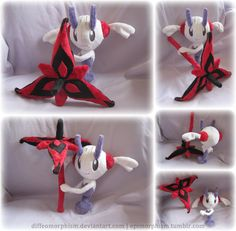 AZ's Floette Plush (Eternal Flower) by Diffeomorphism on DeviantArt
