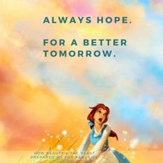 Always hope fora better tomorrow <3