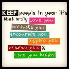 If you want to remain positive, then you should only be around positive people who will uplift you and encourage you. 