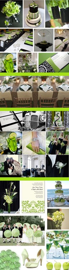 Shades of green wedding | know this is introducing brown as a color but I ... | My future wed ...