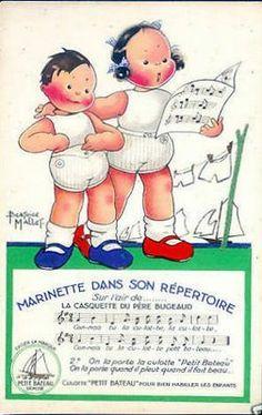 """Culottes """"Petit Bateau""""- illustration de Béatrice Mallet"""