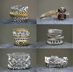 ring rings prong cathy round collections nu waterman large aqua pied antique