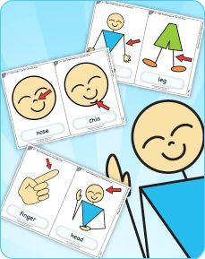 """Learn parts of the body with the classic kids' song """"One Little Finger"""" from Super Simple Songs 1."""