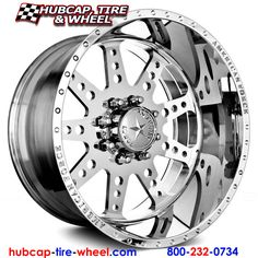 American Force Robust SS8 Polished Wheels & Rims (8 Lug, not chrome)