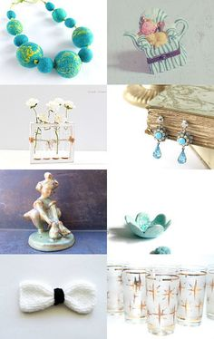Mint Finds by Georgia on Etsy--Pinned with TreasuryPin.com