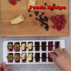 Your Ice Cube Tray is a Step Away From the Perfect Pie and Cupcake Recipes, Baking Recipes, Dessert Recipes, Delicious Desserts, Yummy Food, Masterchef, Creative Food, Sweet Recipes, Love Food